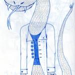 l'homme serpent