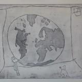 33. Le monde dans une bulle de chewing-gum