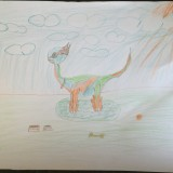 Manu - Dinosaure