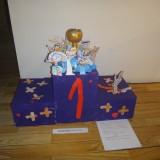 Le podium des super-enfants -- PS école Joliot-Curie VIZILLE