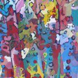 la forêt en fleurs