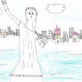 382 - Lisa Richaud 8 ans, CE2 de l'école Eydoux de Marseille