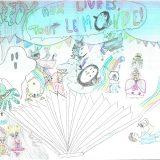 453 - Lilirose et Lune - Ecole - L'albenc