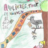 466 - Melvin, Maëlle, Alice et Fiona - CM1 - Saint Seine L'abbaye