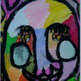 Masque de Justine - 5 ans