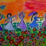 danseuses dans les prés