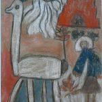 le lama blanc va être sacrifié sur le temple par le Grand Inca, fils du soleil