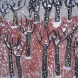 forêt en hiver chantal 5 ans