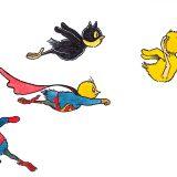 Ponti_ poussin_superhéros