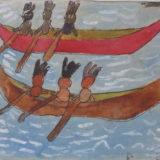 barque d'indiens