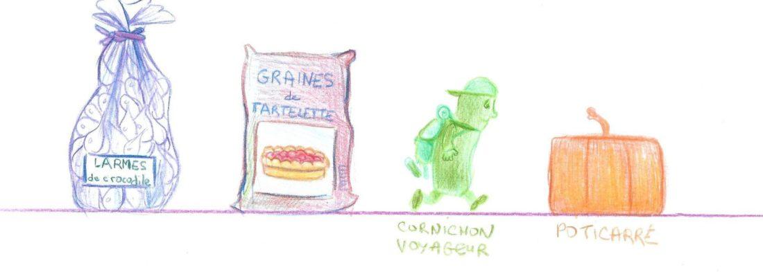 larmes- graine tartelettes cornichon poticarré