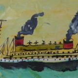 le bateau à voile et à vapeur JPG