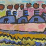 le bateau d'hercule vole sur la mer