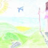Brésil, Maria Luiza, 9 ans