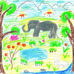 Sri Lanka, Nethmi, 10 ans
