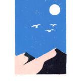 paysage aux trois colombes bis