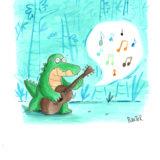 la chanson de croco bis