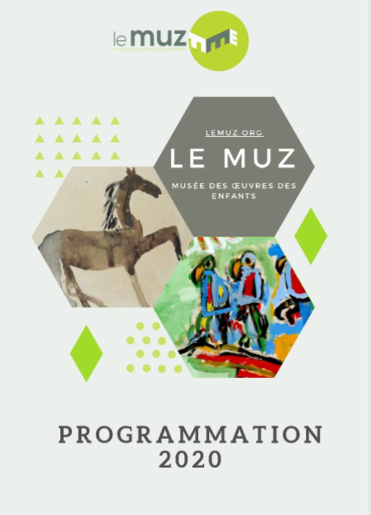 Visuel programmation 2020