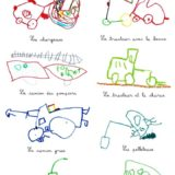 10 - Paul aime beaucoup dessiner des véhicules de toutyes sortes