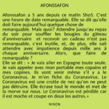 Afonssafon par Ninon