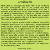 Afonssafon par Faustine