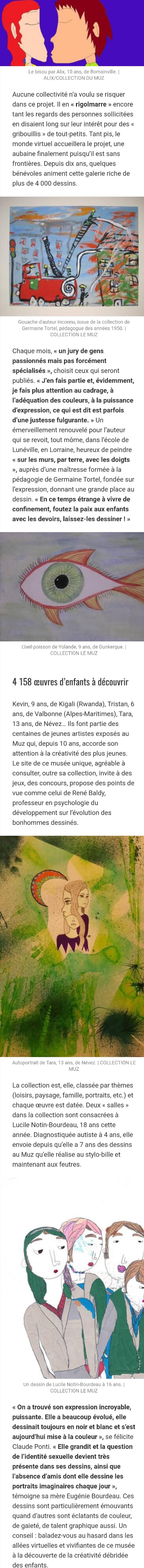 Article Ouest France partie 1 15.05.20