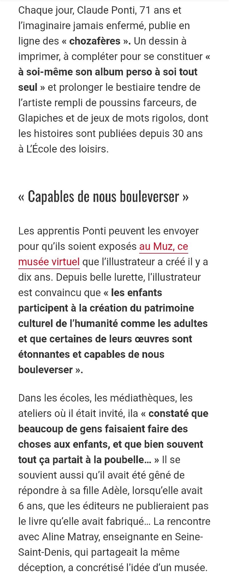 Article Ouest France partie 2 15.05.20