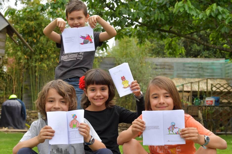 L'auteur et illustrateur jeunesse, qui enchante le jardin des Plantes de Nantes depuis 7 ans, propose chaque jour dans Presse Océan une Chozafère à colorier pour les jeunes lecteurs.