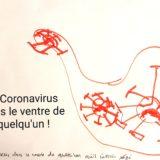 le Coronavitrus dans le ventre de quelqu'un