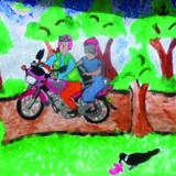 AfRwAmFelixNdagijimana14MotocyclisteTravail2