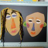 14 - Les masques africains de Paul