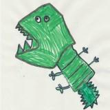 crocodile, raphael, 5ans