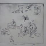 9. La chambre de Pablo à la manière de Calvin et Hobbes