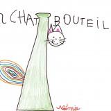 NoÇmie 11032009 - Chat bouteille