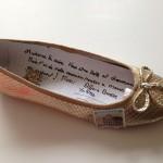 chaussure dorée1