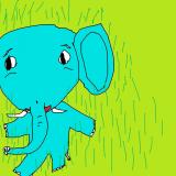 12 le tou,tou,tou petit éléphant bleu