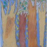 les quatre arbres