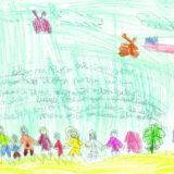 Chili, Maria, 9 ans