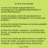 Poème Nils