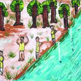 AsInHoMonvillageFishing in the stream by Arun - 8dec19